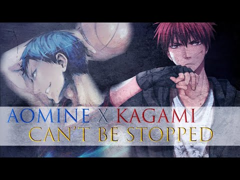 Aomine vs Kagami Can't be stopped Umi Chan