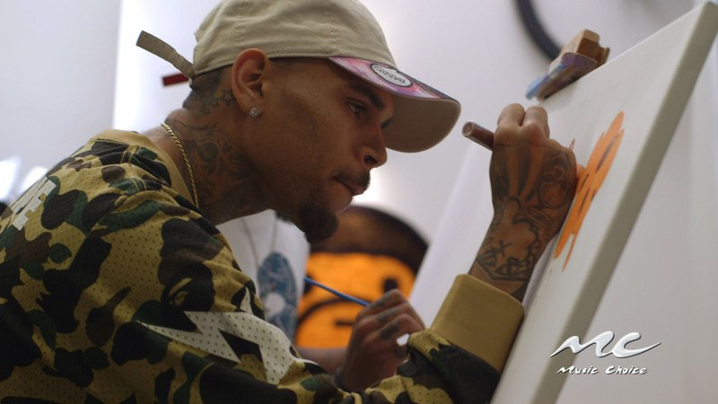 Chris Brown on Art as a Creative Outlet