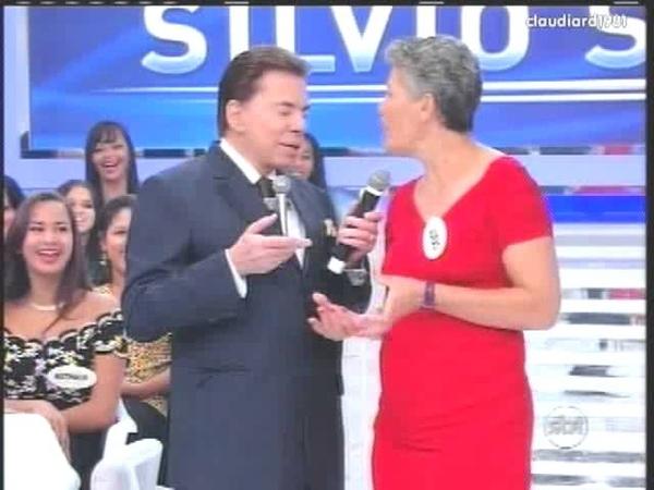 Natkini ou Gianecchini? | Silvio Santos e a colega de trabalho Juraci