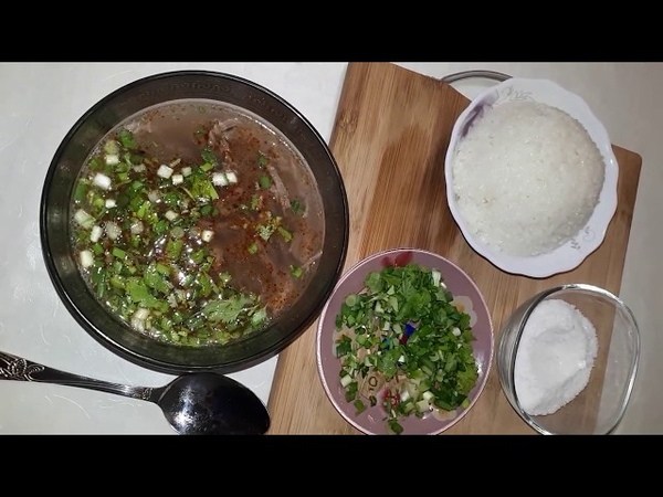 Корейский суп Кя-Дя