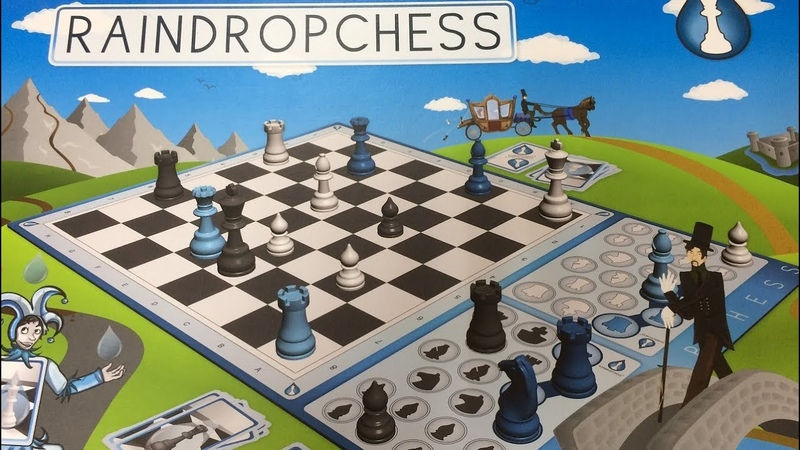 Raindropchess Капельные шахматы