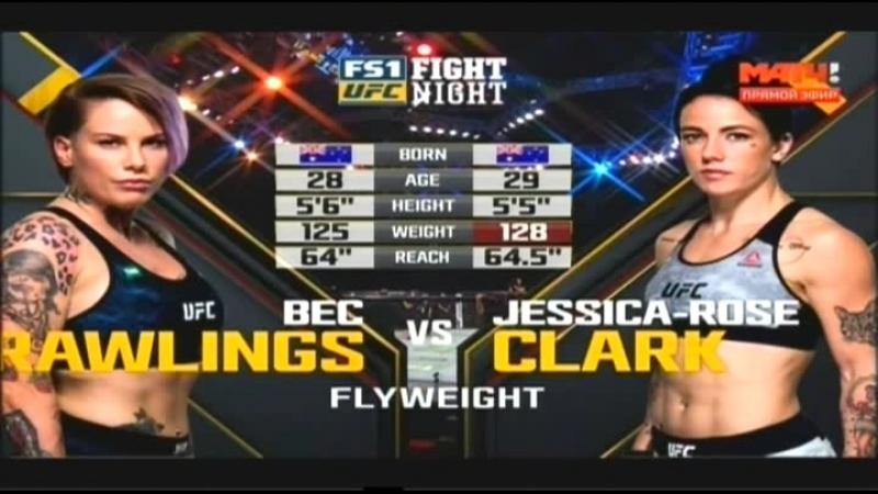 Бек Роулингс - Джесси Роуз-Кларк/Bec Rawlings vs Jessy Rose-Clark (от группы MMA Hero | Sport music)