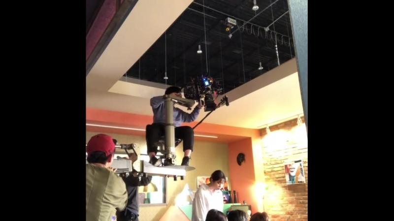 [BTS] Съемочный процесс дорамы 'Топ менеджер'.