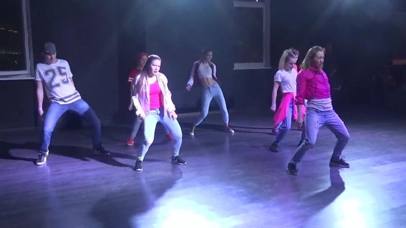 Отчётный концерт в Dance First. Джаз-фанк. Хореография Евгении Качесовой.17.02.18