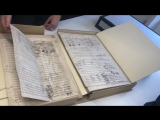 Рукопись оперы Джакомо Пуччини Богема