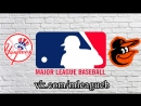 New York Yankees vs Baltimore Orioles 10 07 2018 AL MLB 2018 3 4
