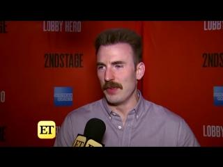 Интервью с Крисом Эвансом по поводу конца роли Капитана Америки (Эксклюзив)