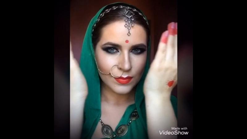 Индийский образ Виктория Косарева