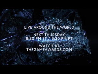 The Game Awards Live Next Thursday in 4K on YouTube!