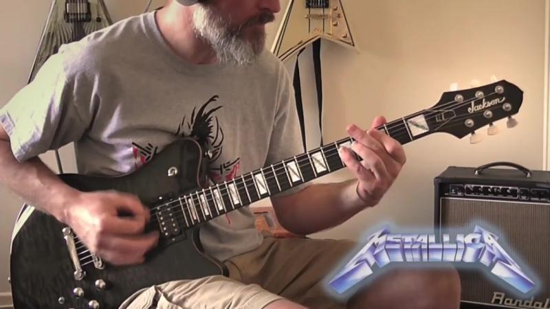 METALLICA Fade to Black Guitar Cover No Backing Track