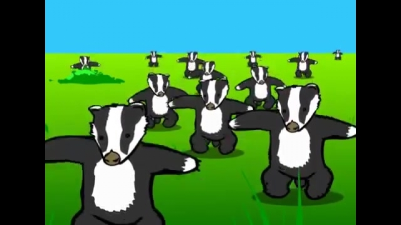 Badgers _ animated music video _ MrWeebl(360P).mp4