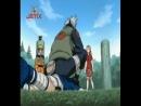 Наруто,Сакура и Саске против Какаши