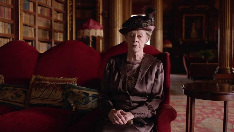 Downton abbey |6х03| Роберт и вдовствующая графиня Грэнтэм
