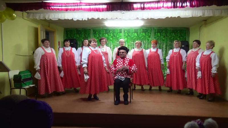 3 декабря 2017 год Воепала На сцене коллектив Завалинка