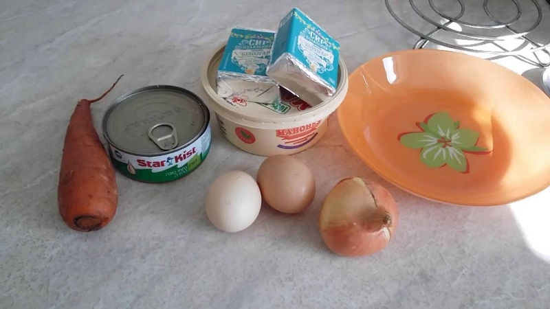 Готовим салат Мимоза по рецепту Аленушки.Prepare Mimoza salad with Alenushka
