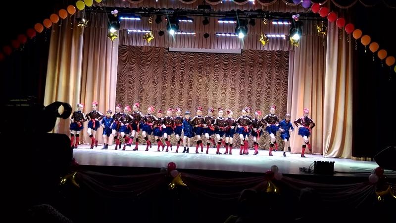 Выпускной 3 А класс хореографичесей школы г.Люберцы. Топ-топ