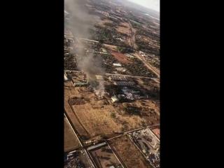 Крушение самолета в ЮАР
