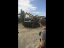 Погрузка буровой установки на трал эпик
