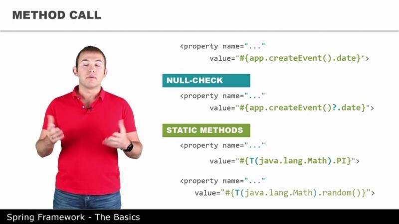 Язык выражений - 10 - The Basics of Spring Framework