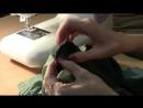 Как вшить потайную молнию в боковой шов платья на подкладе-мастер класс
