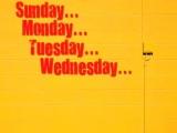 Days of the Week Rap Back- Jack Hartmann song