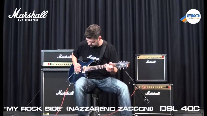 MARSHALL DSL 40C SONG MY ROCK SIDE Nazzareno Zacconi