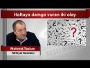 Mehmet Tezkan Haftaya damga vuran iki olay