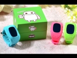Детские GPS часы Smart Baby Watch