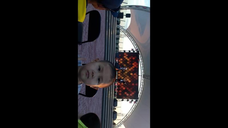 Павлодар қаласы, Ертіс өзені, Ерболат Құдайбергеновтың концерті 2018 жыл