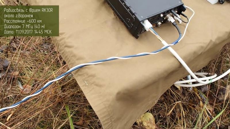 Радиоканал с Алексеем Игониным Проверка тюнера LDG Z-100Plus в новом корпусе в полевых условиях