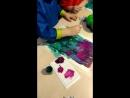 Рисуем цветы Весенний букет