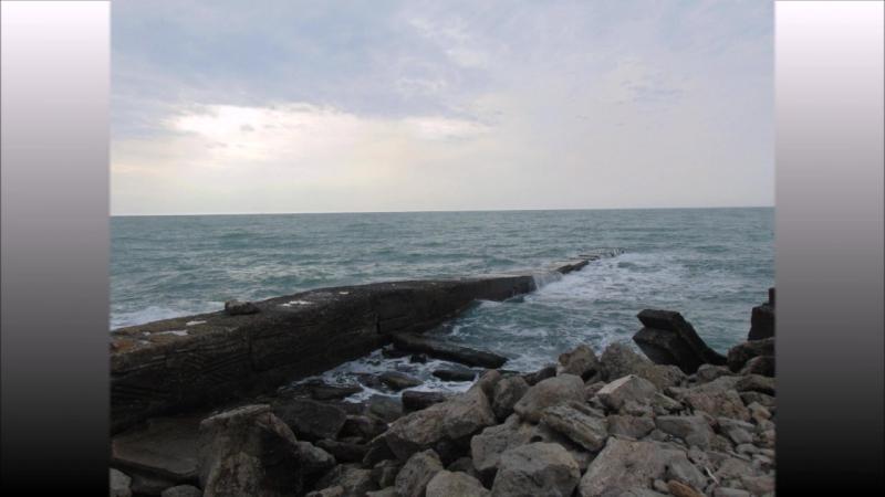 Волны Черного моря - Мыс Широкий. HD