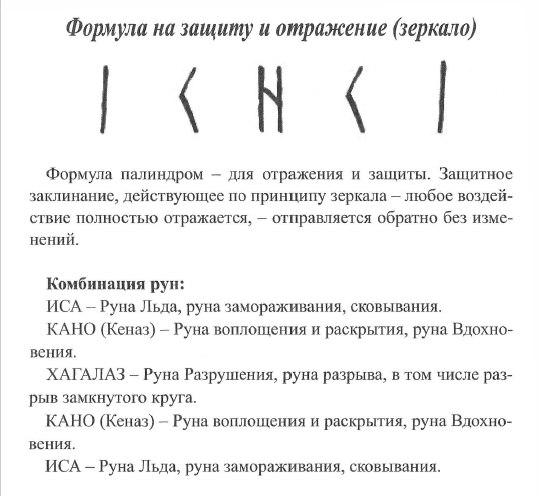 Формула на защиту и отражение (зеркало) Xn9VKljS-qg