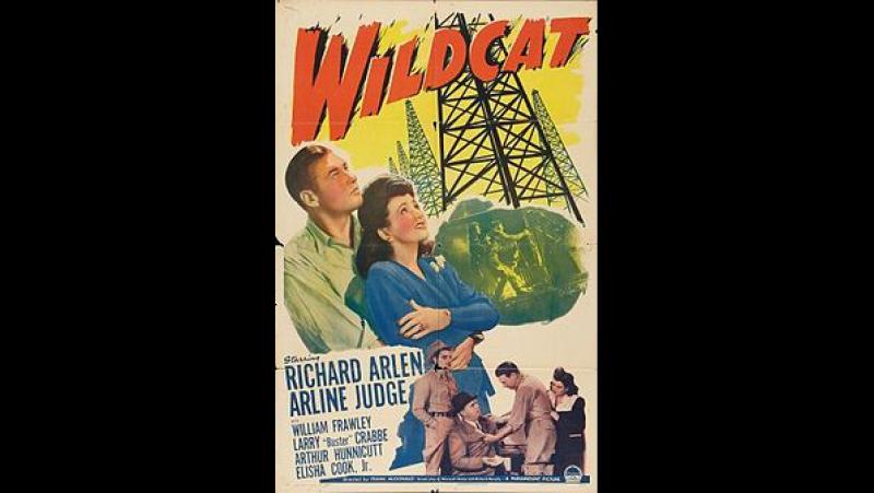 Wildcat 1942 Richard Arlen Arline Judge William Frawley Buster Crabbe