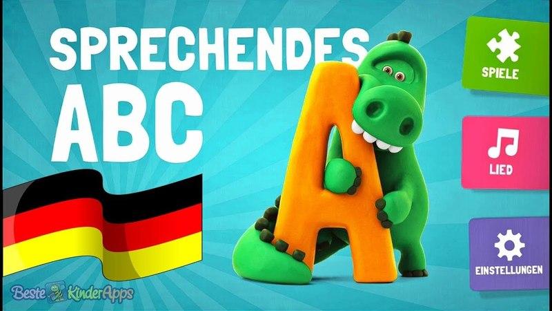 Sprechendes ABC (Deutsch) 🎓 Alphabet Lied Buchstaben Lernspiele App für Kinder