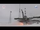 Запуск космического корабля Прогресс МС-08 с космодрома Байконур