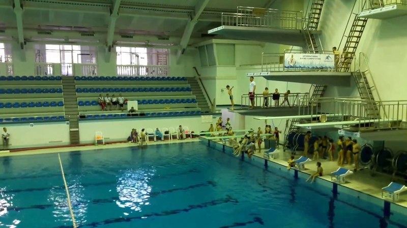Соревнования 27.05.18 1 прыжок спад 3 метра