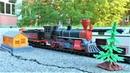 Поезд и железная дорога Видео про поезда для детей Игрушки для мальчиков