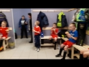Команда кушает Пиццу Празднует 1 место на турнире 21 03 2018 г