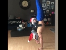 Акробат Уэйн Скивингтон из цирка Cirque du Soleil самый популярный отец одиночка в Instagram
