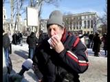 Донецк. 25 января, 2014. Первые столкновения с майдановцами.