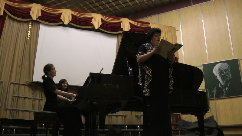 Агнус Деи Исполняет Лариса Лазарева (меццо-сопрано) За роялем - Светлана Аптекарь-Айнагулова