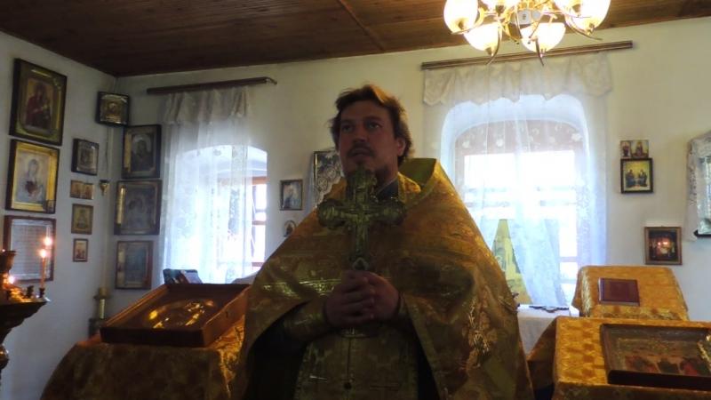 Слово благочинного Урюпинского округа протоиерея Алексия Маслова в день защиты детей по окончании молебна