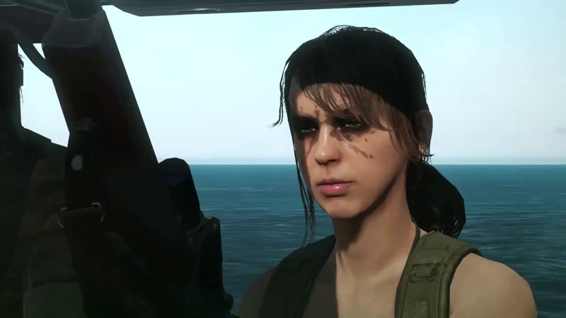 Metal Gear Solid 5 The Phantom Pain - Epic Quiet moment