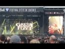 Greta Van Fleet - Edge of Darkness, FEQ, Quebec