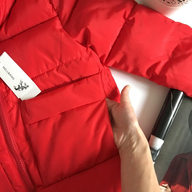 Красный дутик