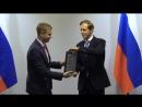 Награждение Лауреатов Премии Ежевского в 2017 г