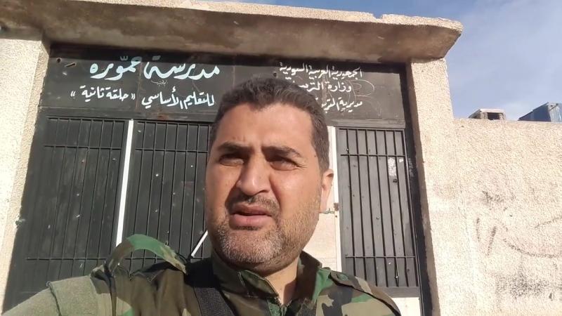 Репортаж Раифа Ас-Салами из освобожденной Хамурии
