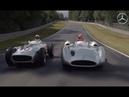 Легендарные СЕРЕБРЯНЫЕ СТРЕЛЫ | Михаэль Шумахер и Нико Росберг за рулем