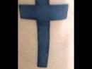 Католический крест тату TABARHA